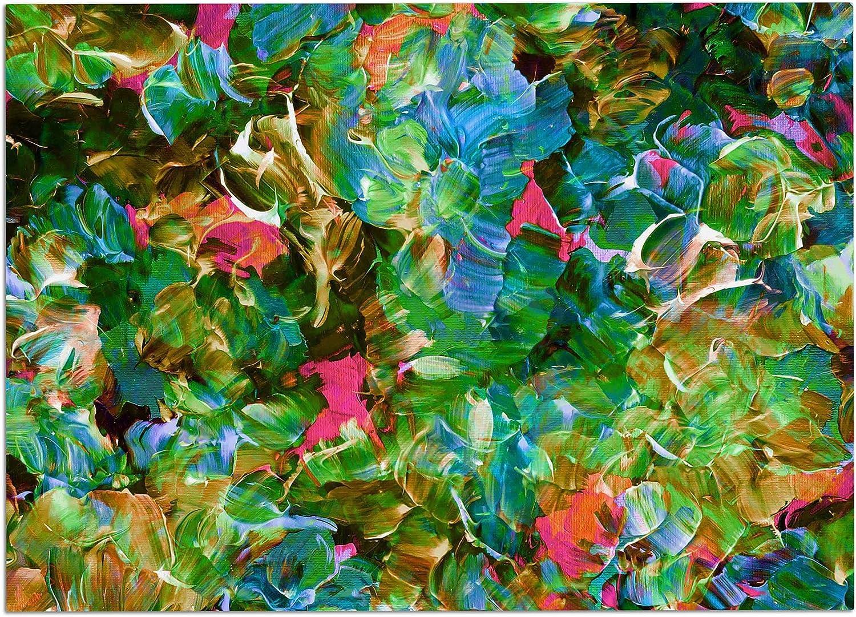 KESS InHouse JD1308ADM02 EBI Emporium Bloom On  Tropical Green bluee Dog Place Mat, 24  x 15