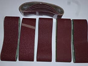 Bandas de lija 100/x 560/mm para lijadora de banda Mix grano K40//60//80//120//180/schleifband 25/unidades