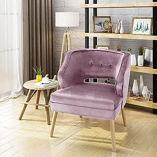 pink accent chair under $100