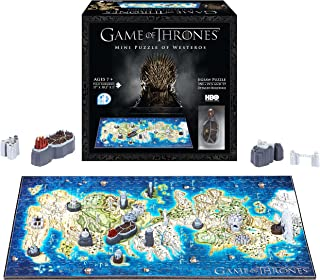 4D Cityscape Game of Thrones (GOT) 3D Mini Puzzle of Westeros (350Piece)
