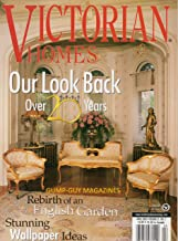 VICTORIAN HOMES April 2002 Magazine REBIRTH OF AN ENGLISH GARDEN Stunning Wallpaper Ideas GRAND CHATEAU THAT MAGIC CHEF BUILT Normanby Hall Blooms Again TRIUMPH OF THE ZOELLERS' QUUEN ANNE