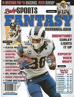 Lindy's Sports Fantasy Football 2018 Vol 18