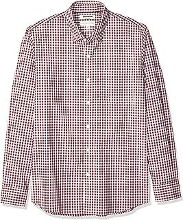 Best mens long sleeve burgundy shirt Reviews