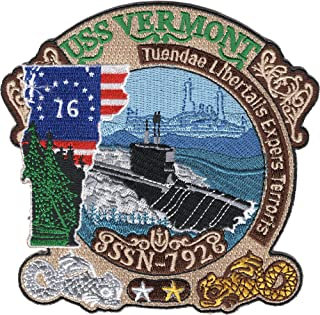USS Vermont SSN-792 Patch