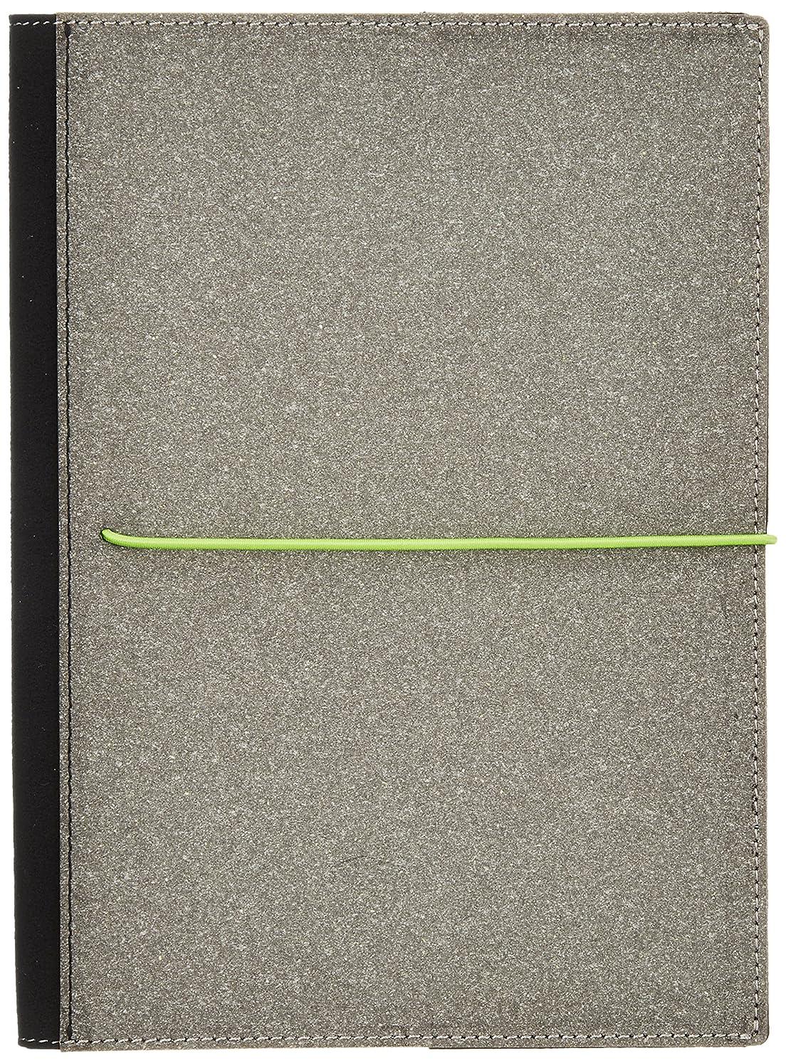 翻訳者飛ぶこどもセンターカラーチャート カバーノートブックA5 ペアグリーン