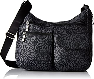 Everywhere Bagg with RFID, Pewter Floral