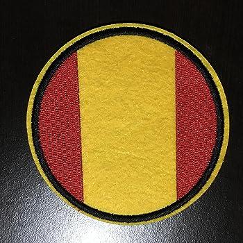 Bandera de España – embroideed hierro en parche – 3