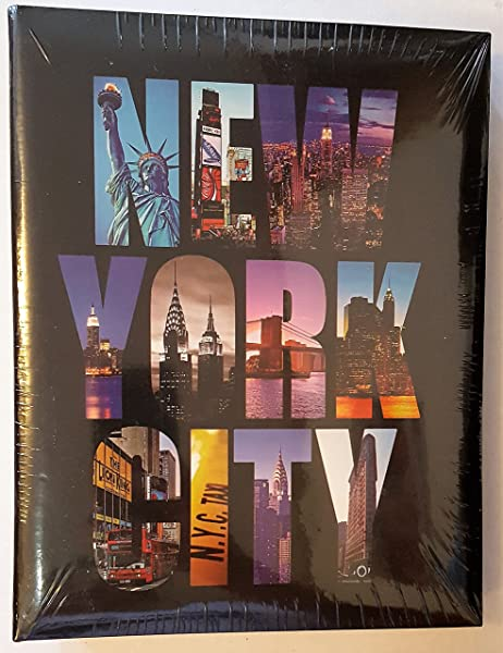 New York City NYC Photo Album Holds 4x6 Pictures Holds 100 Pictures