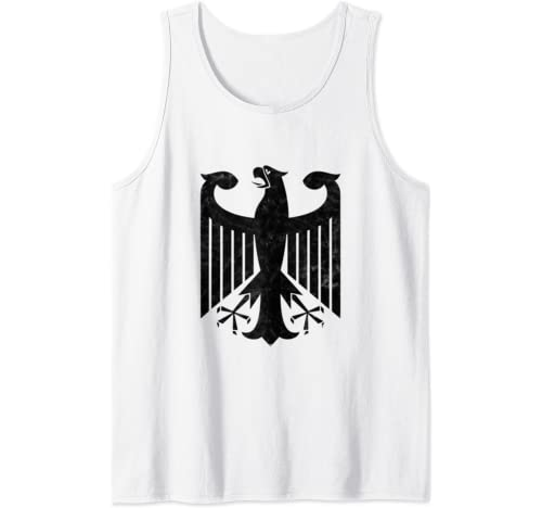 German Eagle Germany Coat Of Arms Deutschland Tank Top