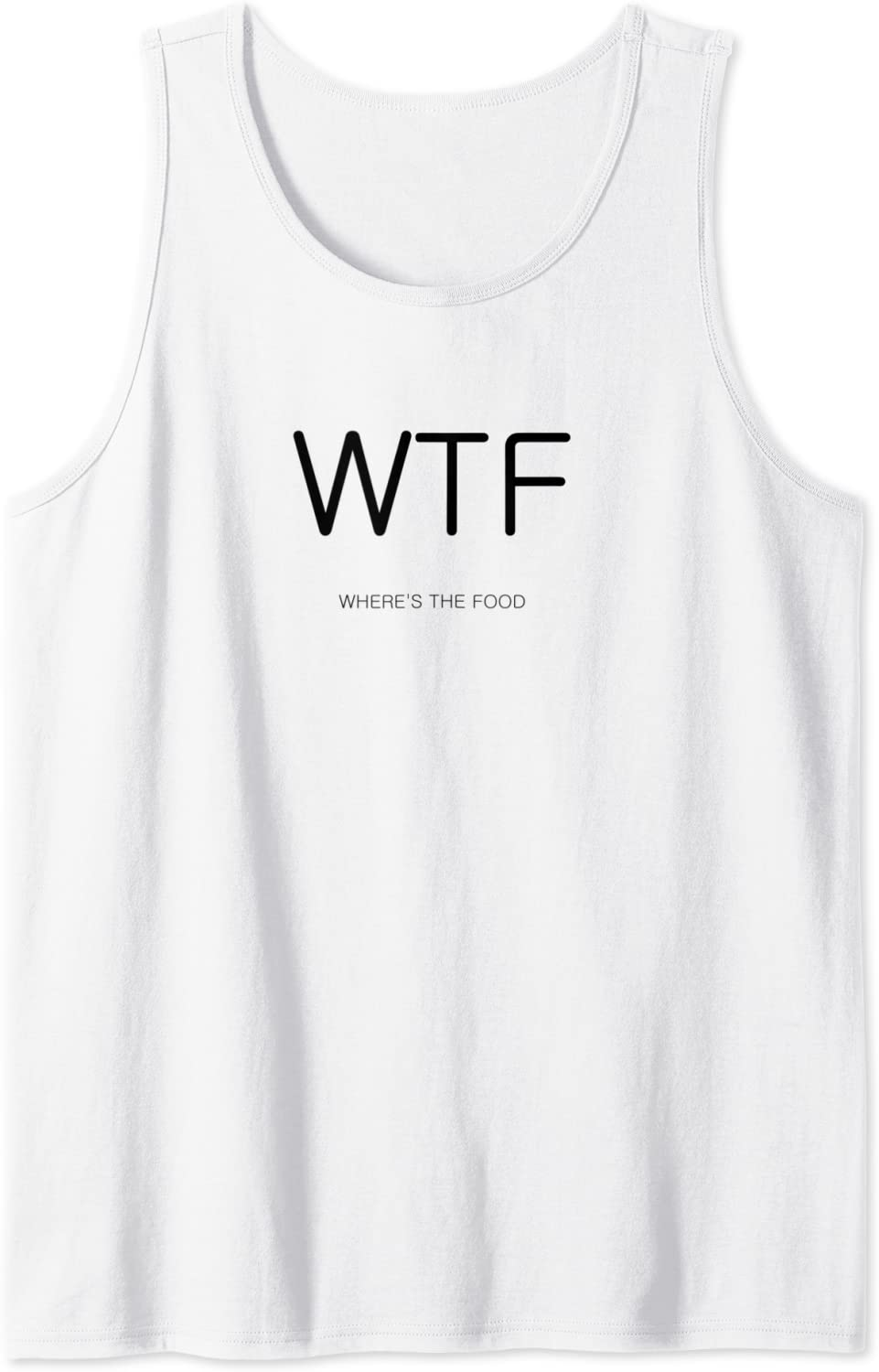 WTF - Where's the food Tank Top