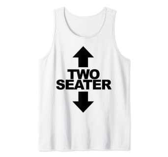 Amazon.com: Camiseta divertida de dos plazas para adultos ...