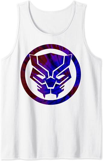 Black Panther Mask Logo Graphic Tank Top