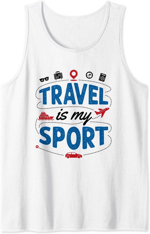Wanderlust Travel women traveler tee tanktop shirt