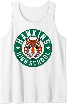 Netflix Stranger Things Hawkins High School Logo Débardeur