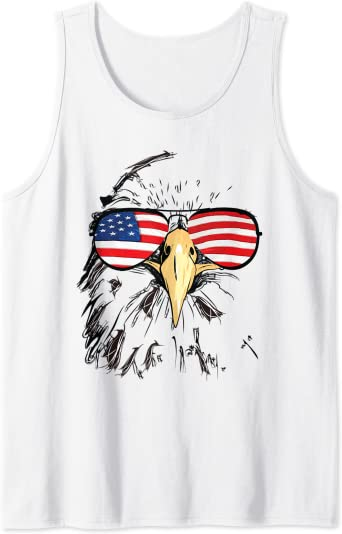 4th Of July Shirt Patriotic Muscle Shirt Patriotic Shirt Patriotic Tank Top USA Eagle American Flag Shirt Fourth Of July Shirt