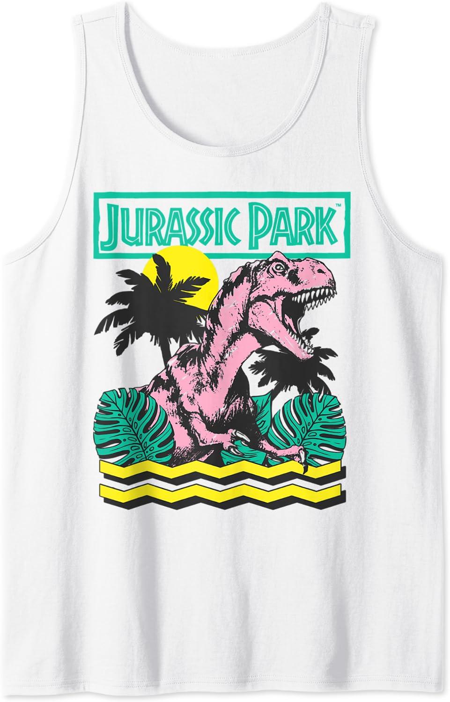 Max 72% OFF Jurassic Park Vintage T-Rex Retro Tank Max 66% OFF Roar Top