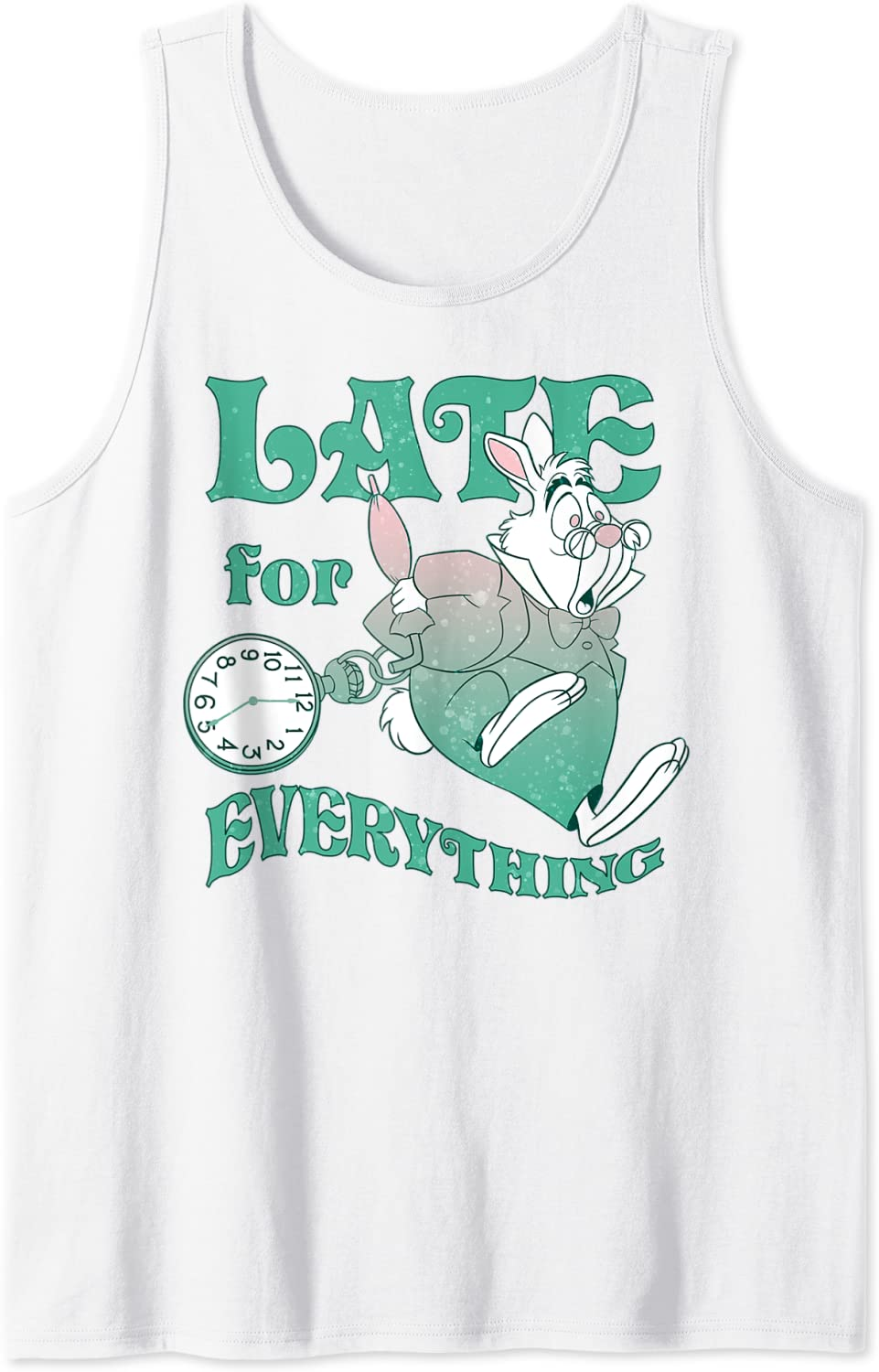 Disney Alice In Wonderland Lowest price challenge Late For Top Tank Everything SALENEW very popular