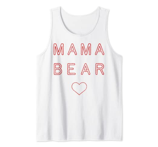 b5a2232c933d Amazon.com  Mama Bear Shirt Arrow Mothers Day Gift for Mom Heart Red ...