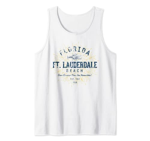 Vintage Fort Lauderdale Tank Top