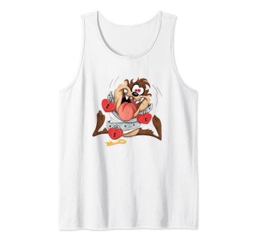 Looney Tunes Taz Love Locked Valentine's Day Tank Top