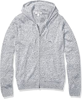 Marchio Amazon - Goodthreads Supersoft Marled Fullzip Hoodie Sweater Uomo