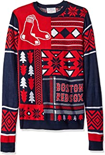 FOCO MLB Patches Ugly Sweater - Pick Team