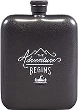 Gentlemen's Hardware Stainless Steel Adventure Travel Hip Flask