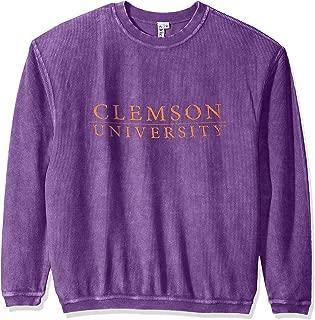 Women's Corded Sweatshirt, Purple, Medium