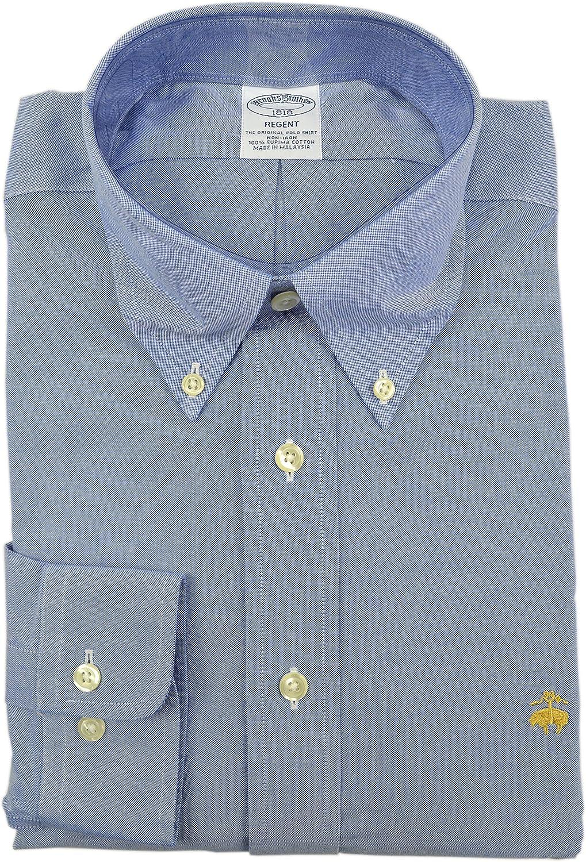 Brooks Brothers Men's Regent Slim Fit Supima Button Down Shirt