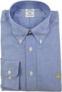 Brooks Brothers メンズ リージェント スリムフィット スーピマ ボタンダウンシャツ
