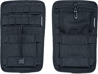 Kuryakyn 5287 Motorcycle Accessory: Internal Saddlebag Storage Organizer for Harley-Davidson Motorcycles, Black