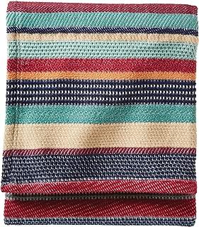 Pendleton Cotton Jacquard Garnet Chimayo Throw Blanket