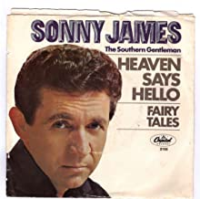 JAMES, Sonny/Heaven Says Hello/45rpm record + picture sleeve