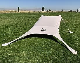 Shades Beach Shelter | Sun Shade | Lightweight & Durable | Easy Setup | No Rope Needed | Built-in Sandbags