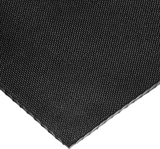 3//8 Thick x 36 Wide x 10 ft 40A High Strength Buna-N Rubber Roll with Acrylic Adhesive Long