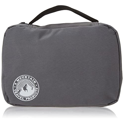 Hanging Toiletry Bag  Shaving Kit and Toiletries Organizer by 3 Mountain  Travel … edcb037ba6c76