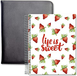 $57 » Tools4Wisdom Leather Planner 2021-2022 - April 2021 to June 2022 Academic Calendar - 8.5 x 11 Full-Color Daily Planner Pag...