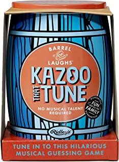 Ridley's | Barrel of Laughs | Kazoo That Tune Game | Guess The Tunes!