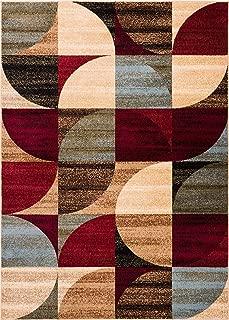 Well Woven Barclay Bowery Art Dercor Ivory Geometric Modern Area Rug 3'11'' X 5'3''