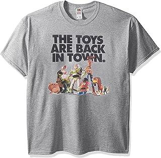 تي شيرت برسم مطبوع عليه Story The Toys are Back in Town للرجال من Disney