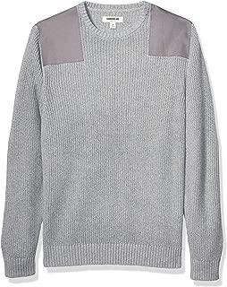 Men's Soft Cotton Military Sweater
