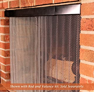 Best stainless steel fireplace curtain Reviews