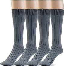 Silky Toes Modal Women's Dress Crew Socks, Super Soft Socks- Multi Pack