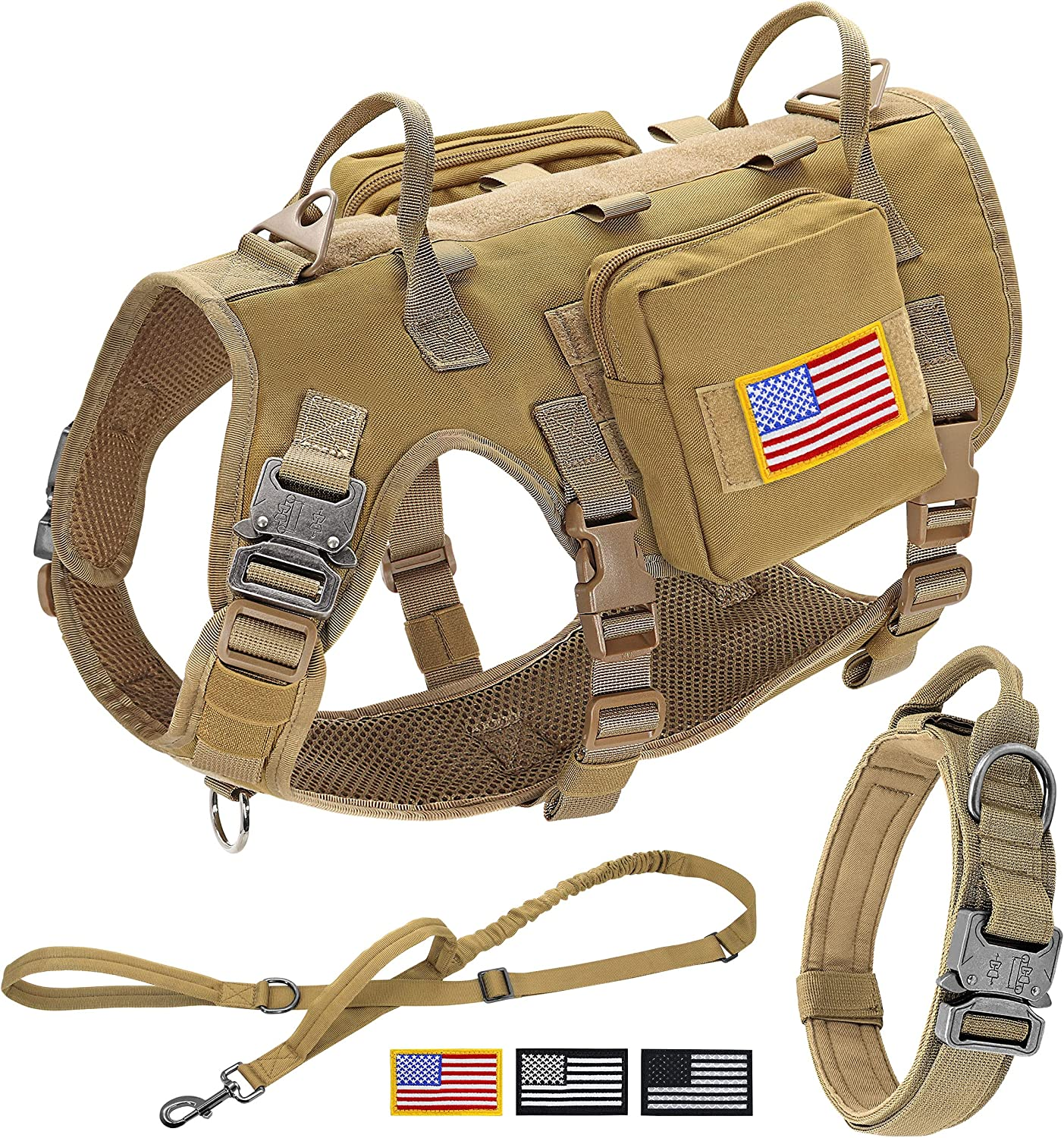 40% OFF Cheap Sale Forestpaw Tactical Dog Vest Year-end annual account Harness Control Do and Training Easy
