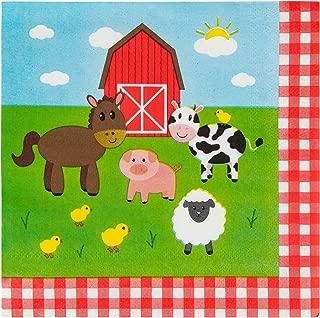 Best farm animal napkins Reviews