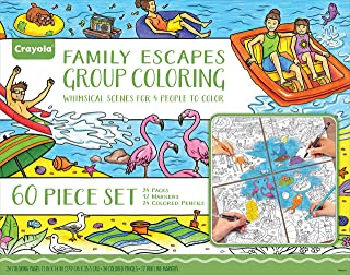 Crayola Family Escapes Group Coloring Set
