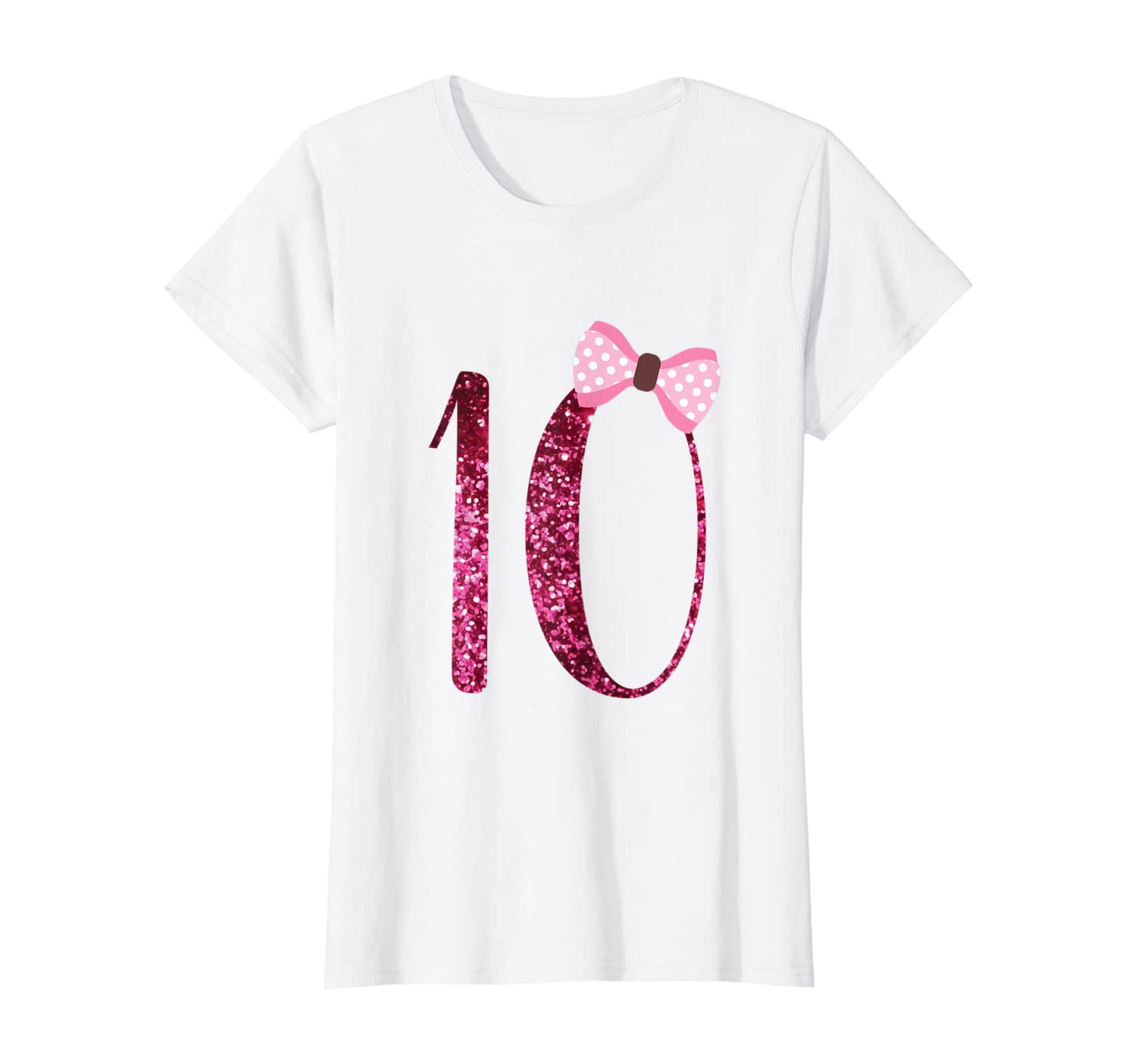 Girls 10th Birthday, Gift 10 Years Old Girl Bday Shirts