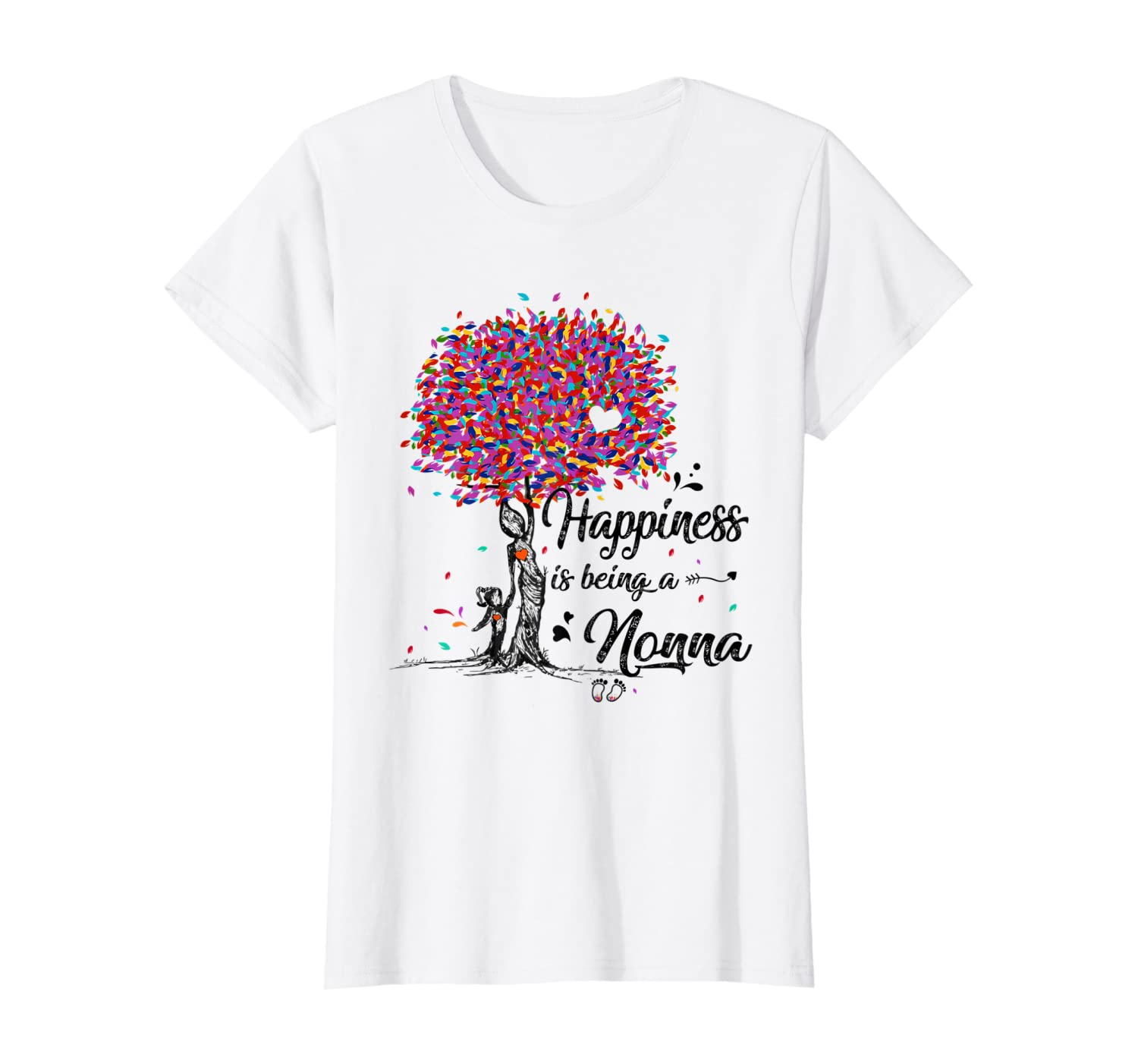 Happiness Is Being A Nonna Tshirt Cute Mother\\\'s Day Gifts T-shirt