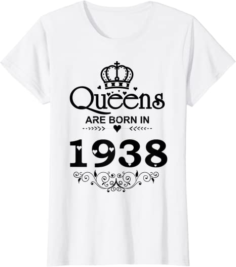 Queens Are Born In 1938 Eighty 80th 80 Birthday Tote Bag Shopper Astrology Royalty Princess Queen Cool Gift Idea Ladies Womens