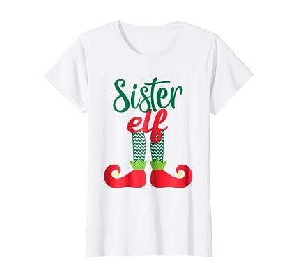Amazon.com: Camisa de la Hermana Elf Elfos de duende de la ...